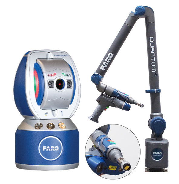 FARO® LAUNCHES LATEST VANTAGE LASER TRACKER 6DOF PROBE